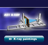 X-ray of paintings with ART X-RAY